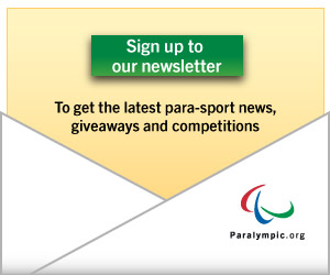 A picture of an open envelope and IPC logo: Click here if you want to sign up to IPC's newsletter, to get the latest para-sport news, giveaways and competitions.