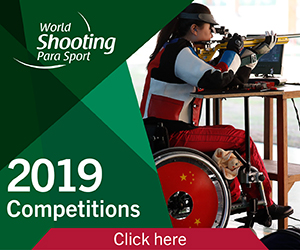 Shooting Para Sport - 2019 Competitions - banner square