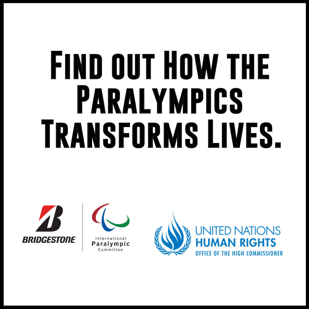 Click here to find out how the Paralympics is transforming lives