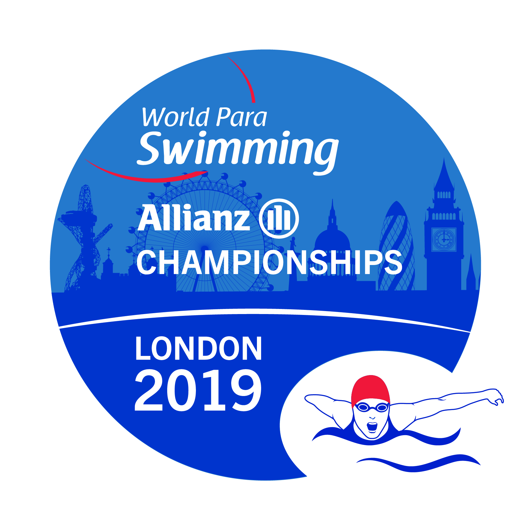 the official logo of the London 2019 World Para Swimming Championships
