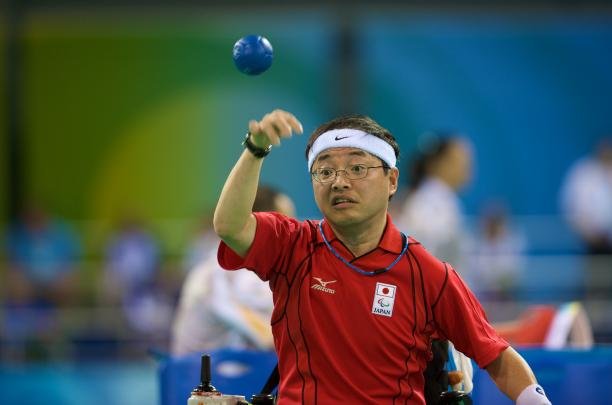 Japanese Boccia Player