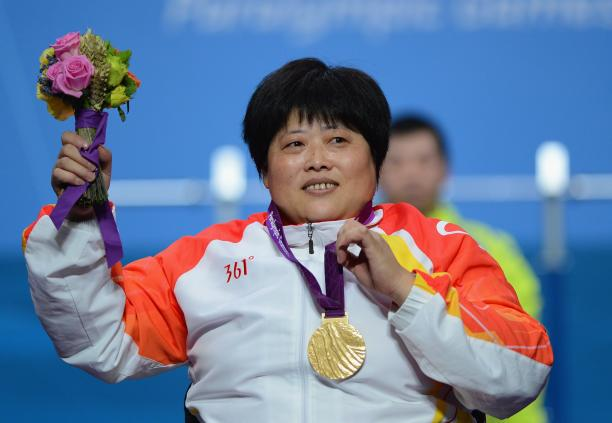 Tzu-Hui Lin wins gold at London 2012