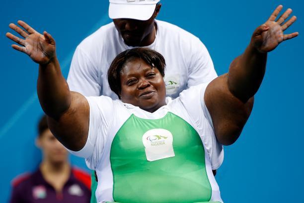 Nigerian powerlifter Grace Anozie
