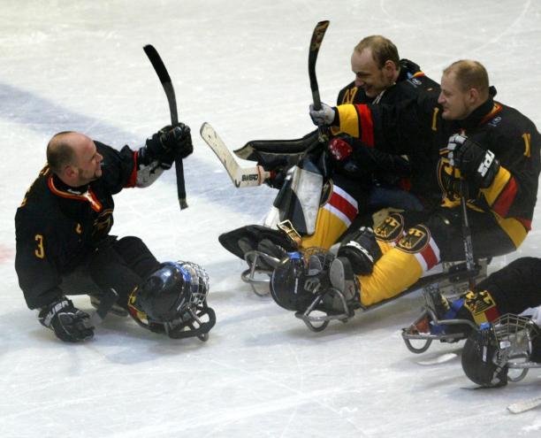 Germany ice sledge hockey