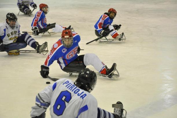 Great Britain ice sledge hockey