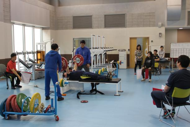 IPC Powerlifting national referee's course Korea