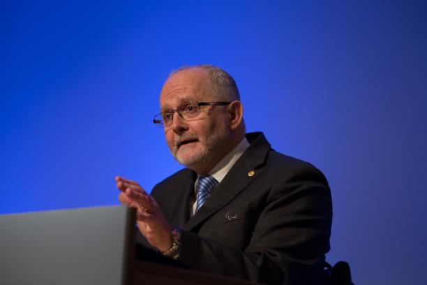 Sir Philip Craven at General Assembly 2013
