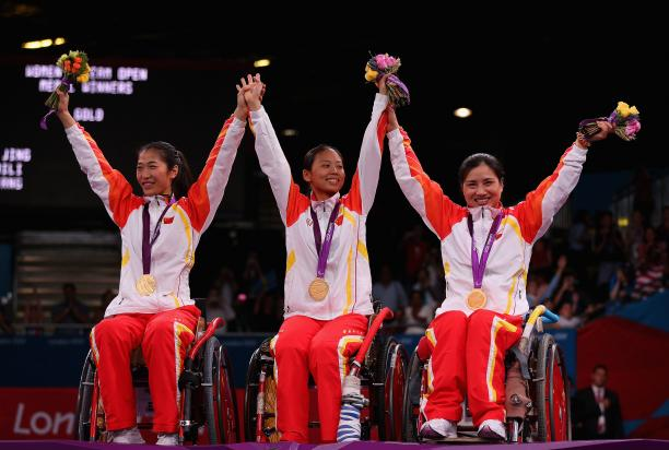 Jing Rong China Wheelchair Fencing