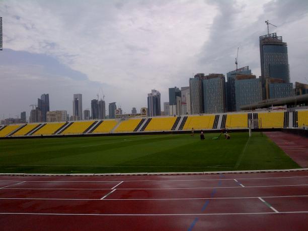 The Suhaim Bin Hamad Stadium is home to the Qatar Sports Club and will host the 2015 IPC Athletics World Championships