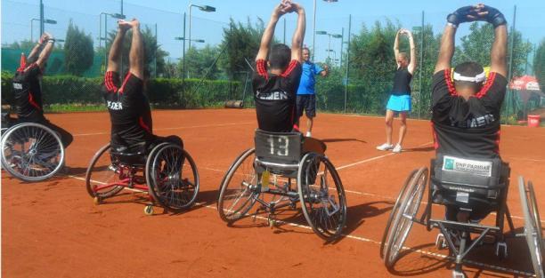 Wheelchair tennis Yemen