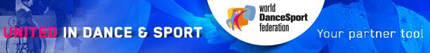 World Dance Sport Federation banner horizontal
