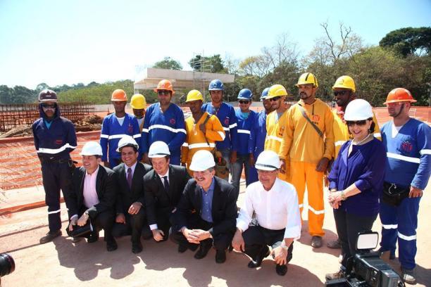 Brazilian Training Centre visit