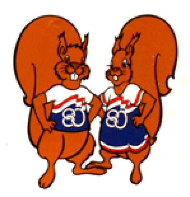 Two squirrels