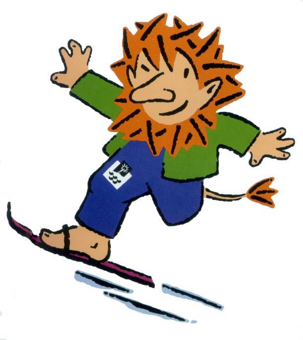 A troll on a ski