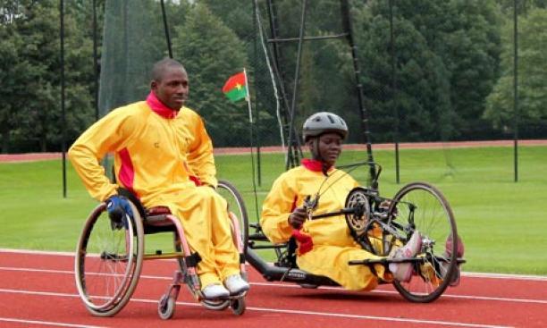 Burkina Faso handcyclists