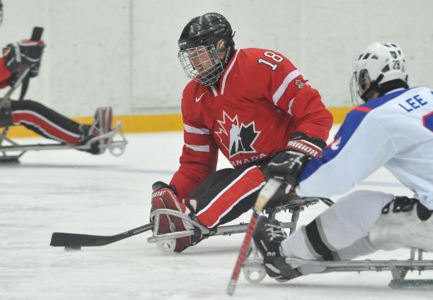 Canada Ice Sledge Hockey