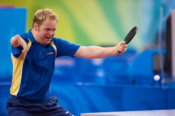 Swedish Table Tennis player Fredrik Andersson