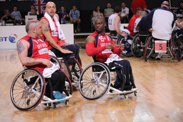 Great Britain men's Wheelchair Basketball