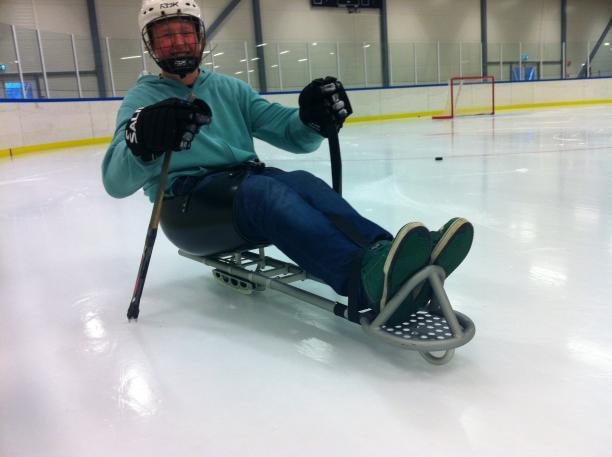 Norway ice sledge hockey Ottobock equipment loaner programme