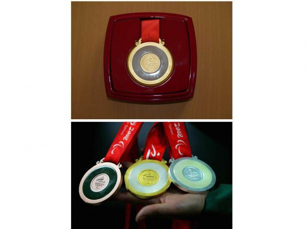 Beijing 2008 Paralympic medals