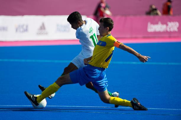Jan Francisco BRITO da COSTA, Ukraine, Brazil, football, seven-a-side, Ukraine vs Brazil, london 2012