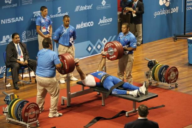 Powerlifting at the Parapans