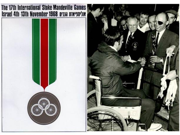 Tel Aviv 1968 Paralympic medals