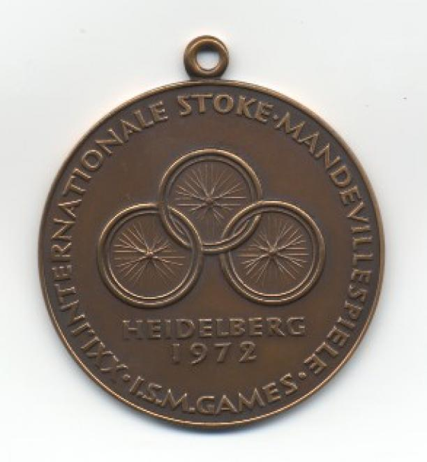 Heidelberg 1972 Paralympic medals