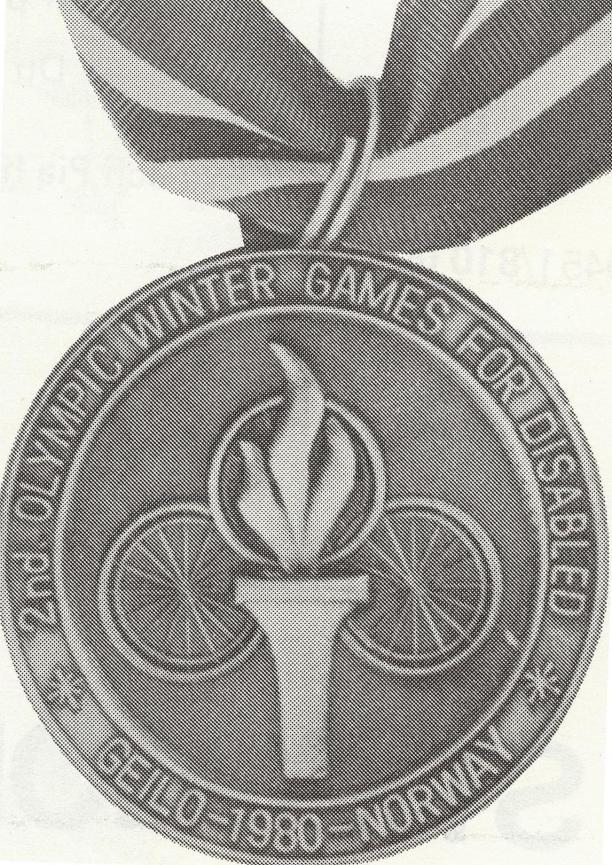Geilo 1980 Paralympic Winter medals