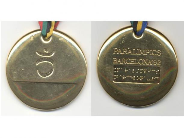 Barcelona 1992 Paralympic medals