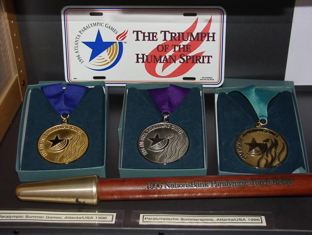 Atlanta 1996 Paralympic medals
