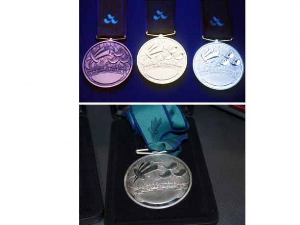 Sydney 2000 Paralympic medals