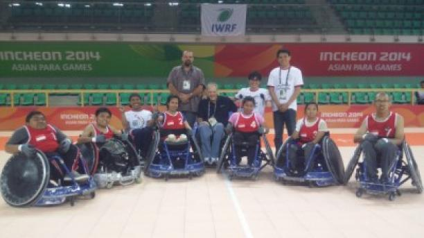 Team Indonesia at the 2014 Asian Para Games