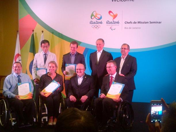 The National Paralympic Committees have formally been invited to the Rio 2016 Paralympic Games.