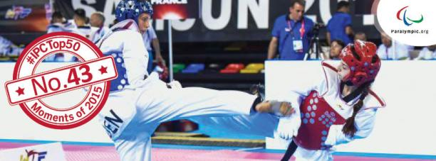 Top 50 Moments 2015: No. 43 Russia triumph at para-taekwondo Worlds