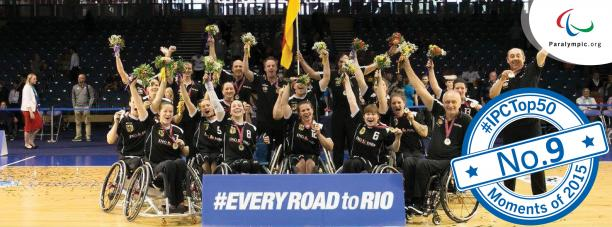 German women's wheelchair basketball team