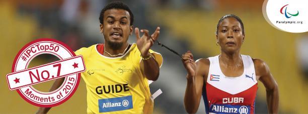 Cuban sprinter Omara Durand