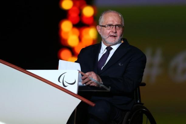 President of the IPC Sir Philip Craven