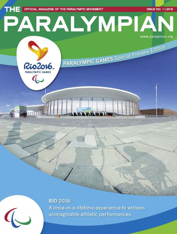 The Paralympian 01/2016 - cover