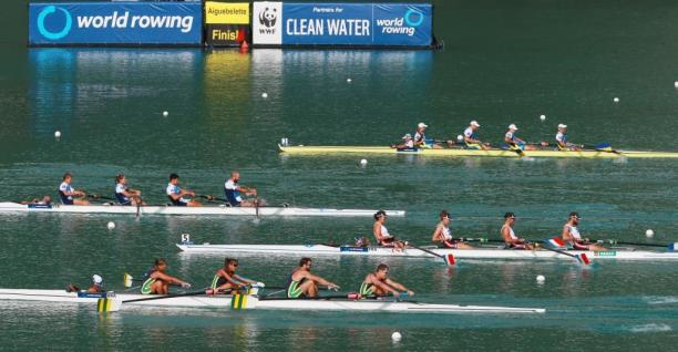 The 2015 World Rowing Championships is held in Aiguebelette, France.