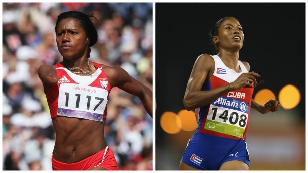 Cuba's Yunidis Castillo and Omara Durand