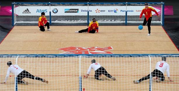 Goalball China X Iran - London 2012