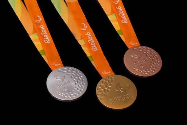 These are the medals athletes will compete for at the Rio 2016 Paralympic Games.