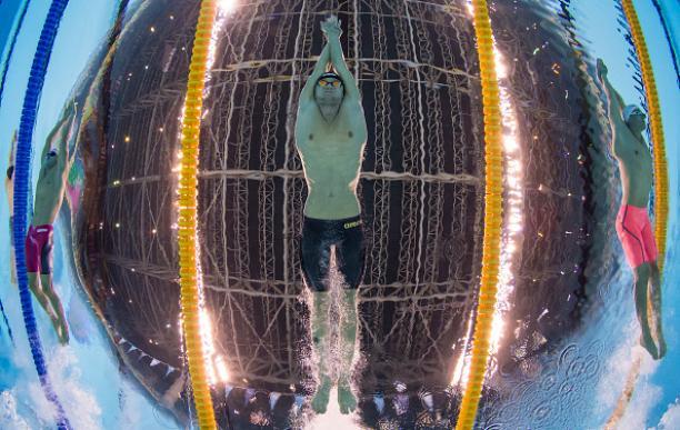 Ihar Boki of Belarus competing at Rio 2016