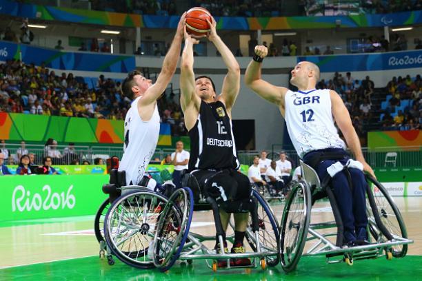 GBR's Basketball team at Rio 2016