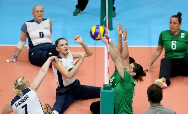 Brazil vs. Ukraine in Women's Sitting Volleyball at Rio 2016