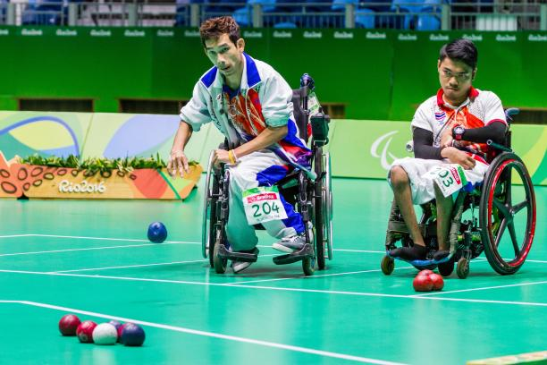 Boccia at the Rio 2016 Paralympic Games.