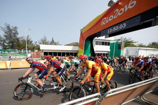 Cycling Road at the Rio 2016 Paralympic Games.