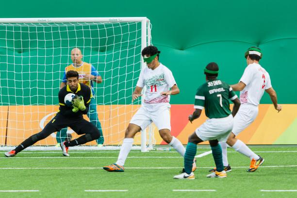 Football 5-a-side at the Rio 2016 Paralympic Games.
