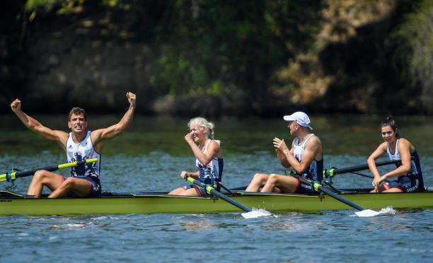 GBR's rowing gold medallists at Lagoa